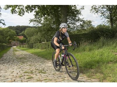GripGrab 1045 ProGel - Cykelhandsker - Dame - Lilla - Kort