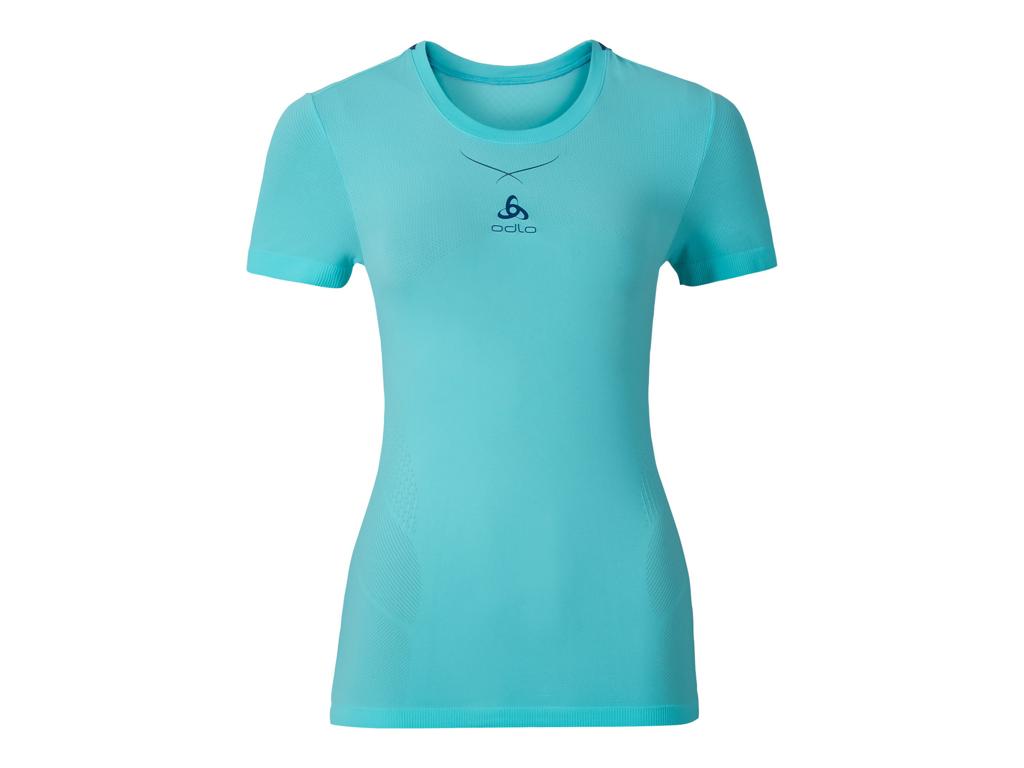 Odlo Ceramicool - Basis t-shirt - Dame - Turkis