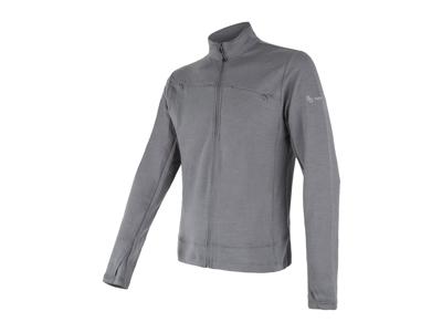 Sensor Merino Upper Fleece - Uldfleece jakke - Herre - Grå - Str. M