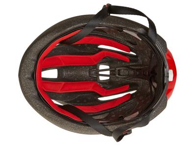MET Rays - Cykelhjälm - Svart / Röd