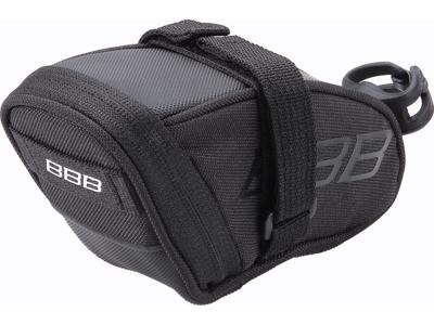 BBB - SpeedPack S - Sadeltaske med velcro - Vandtæt - Sort