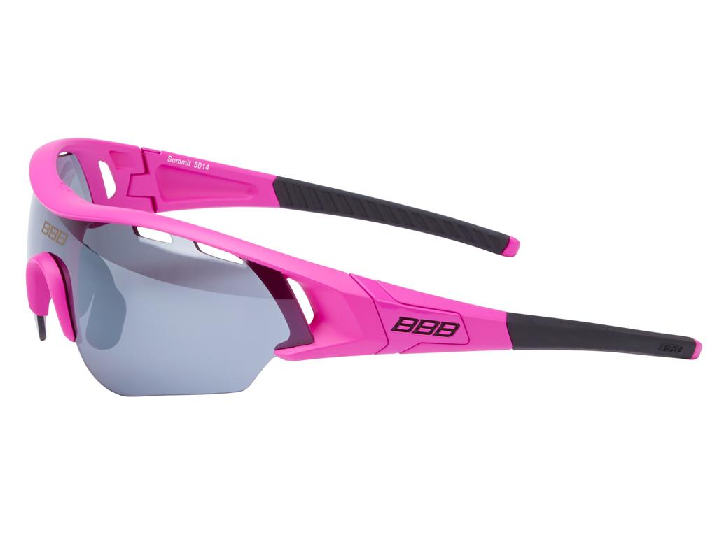 Image of   BBB - Løbe- og cykelbrille Summit - 3 sæt linser - Pink