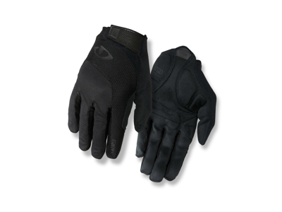 Giro Bravo Gel - Cykelhandske - Lang Finger - Str. XL - Sort