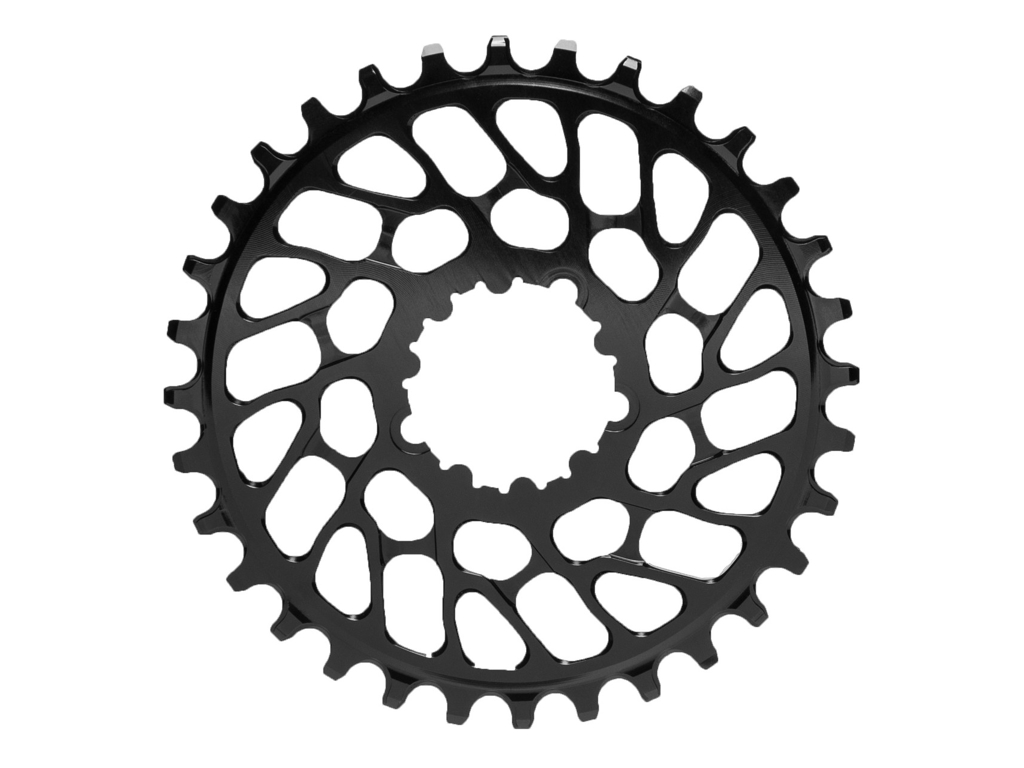 absoluteBLACK Rund klinge - Sram - Direct mount - Offset 0 mm - 34 tænder - Sort thumbnail