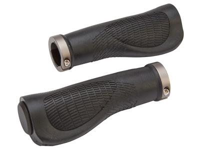Bike Attitude Håndtag - Ergonomiske - Sort - 125 mm med gel - inkl. skrue