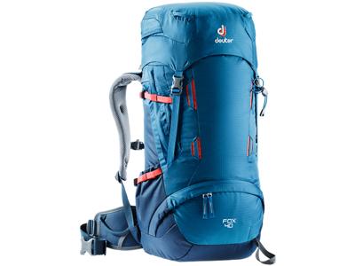 Deuter Fox 40  - Trek rygsæk - Model til børn - 40 liter - Blå