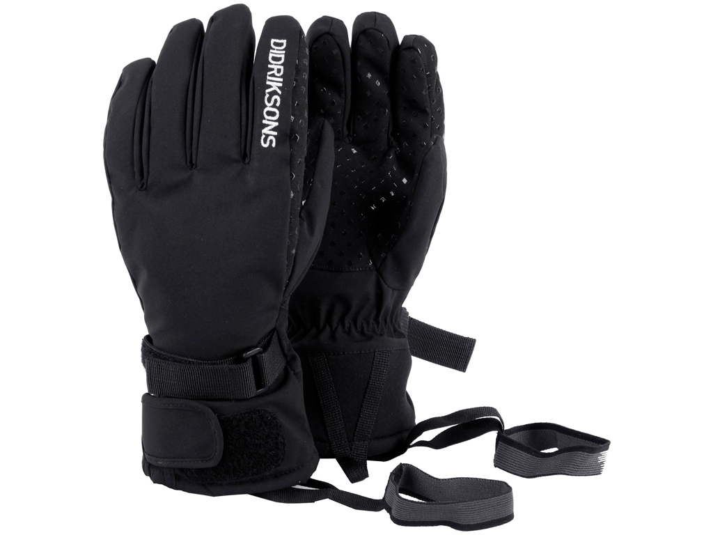 Didriksons Five Youth Gloves - Handske Børn - Sort