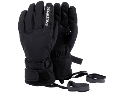 Didriksons Five Youth Gloves - Handske Børn - Sort -  Str. 7