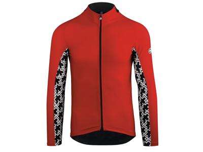 Assos Mille GT Spring Fall LS Jersey - Cykeltrøje m. lange ærmer - Rød