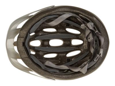 Bell Tracker - Cykelhjelm - Str. 54-61 cm - Mat Sølv