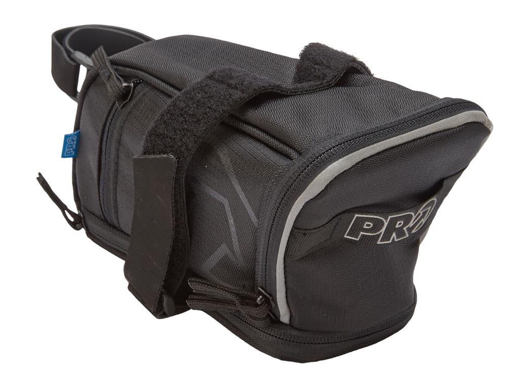 PRO - Sadeltaske Maxi Plus Strap - Med spændebånd