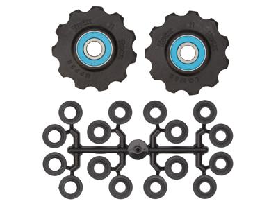 Tacx pulleyhjul med 11 tænder - Med keramiske lejer og teflon