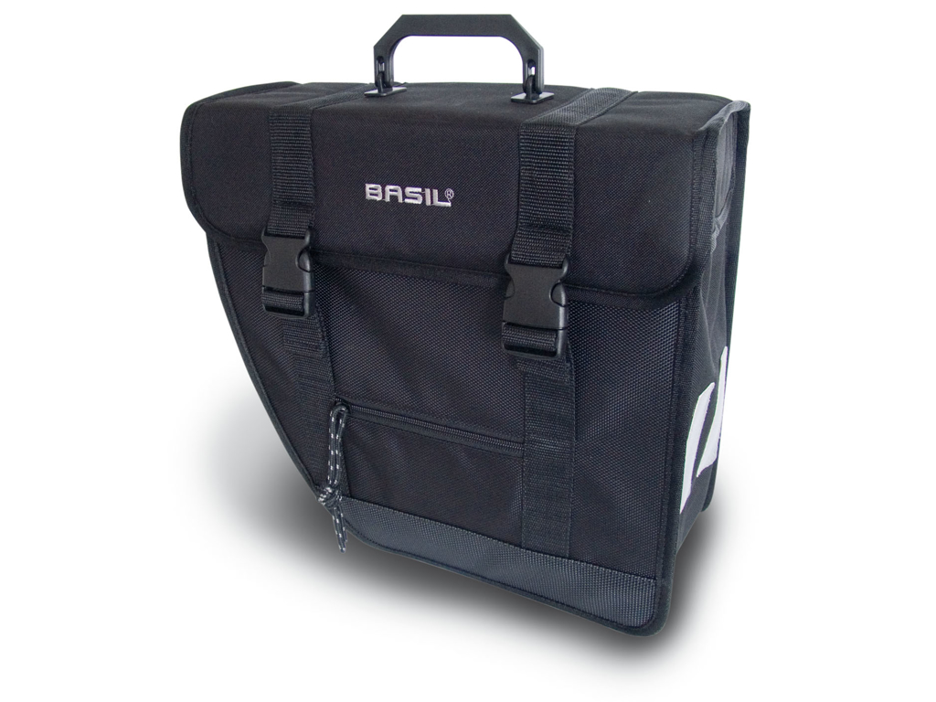 Image of   Basil Tour Single 17L - Cykeltaske til bag - Venstre - Sort