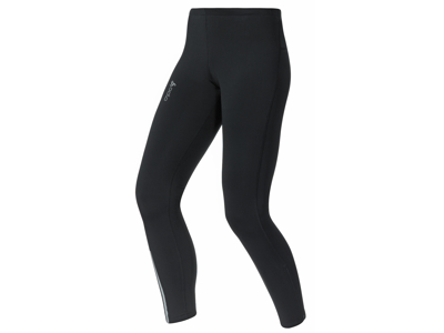 Odlo - Tights comfort active run - Løbetights - Dame - Sort