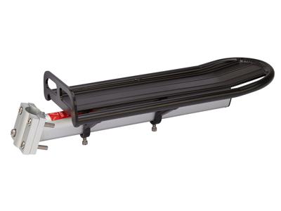 Atredo - Pakethållare - Montering på sadelpinne - Svart