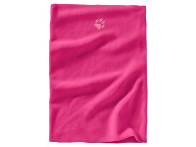 Jack Wolfskin Real Stuff - Loop - Kids - Onesize - Halsedisse - Pink fuchsia