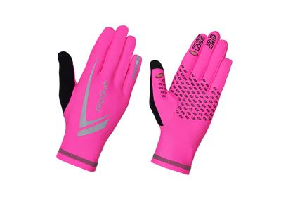 GripGrab Expert løbehandske - Hi-Vis Pink