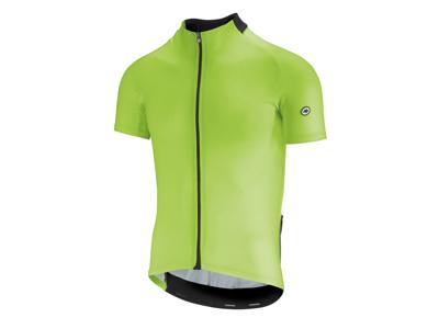 Assos Mille GT Short Sleeve Jersey - Cykeltrøje - Hi-Vis Grøn