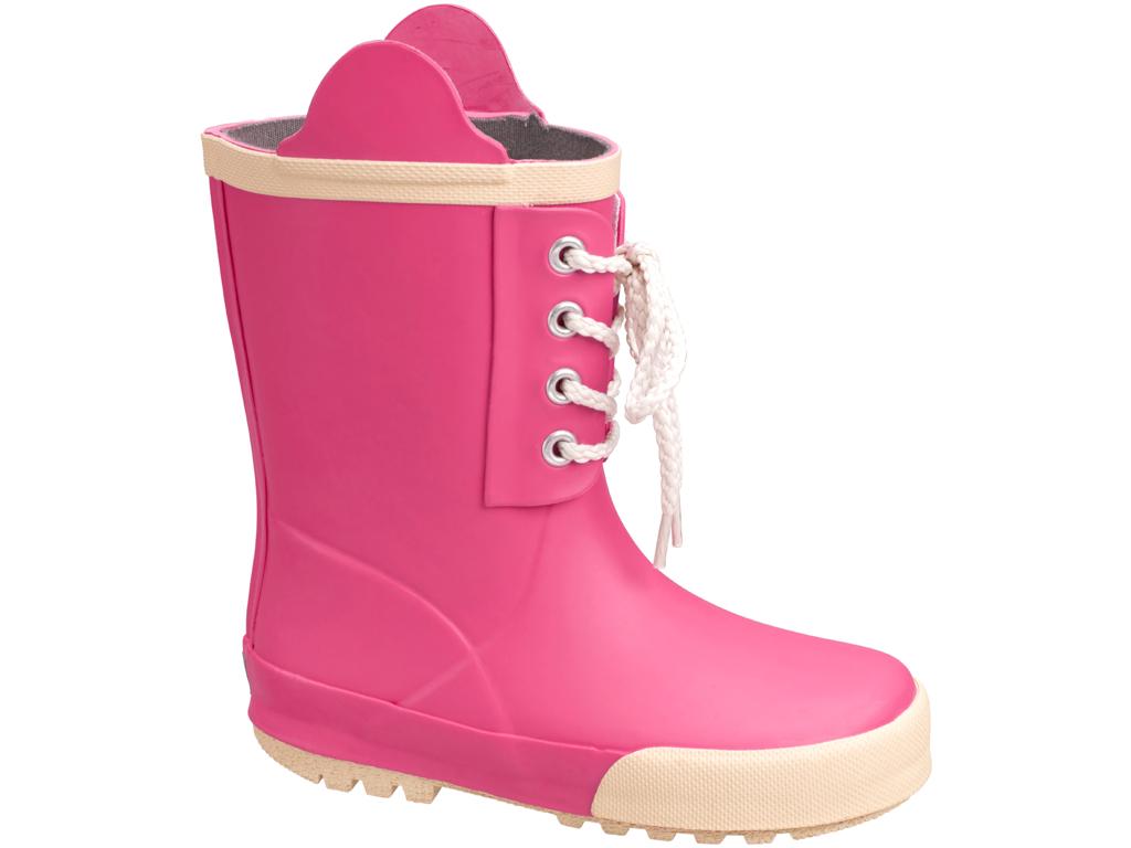 Billede af Didriksons Splashman Kids Boots - Gummistøvle Børn - Pink - 27
