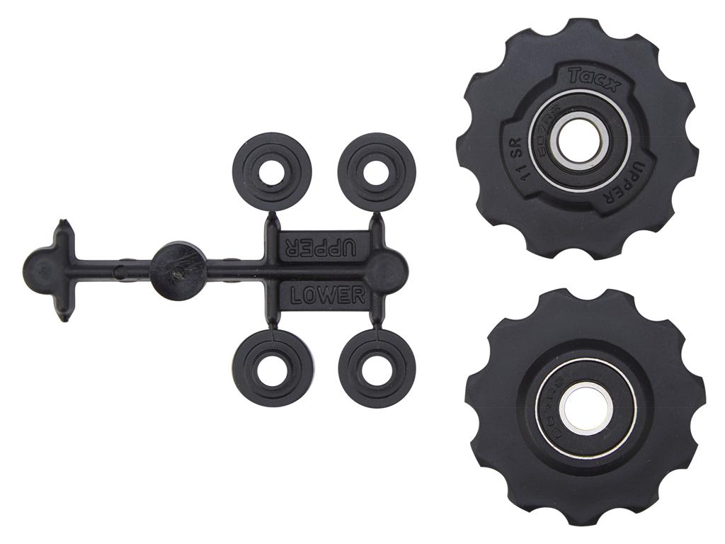 Billede af Tacx pulleyhjul til Sram Red/Force og Rival - Med maskinlejer