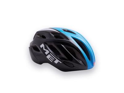MET Idolo - Cykelhjelm - Sort/Blå/Hvid