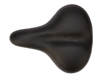 OnGear - Sadel - komfort med elastomer - Unisex D1 Base  - Sort