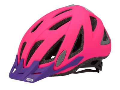 Cykelhjelm Abus Urban-I v.2 neon pink 52-58 cm