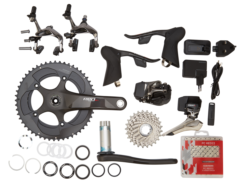 Sram Red eTAP - Komplet geargruppe - 22 elektroniske gear - BB30 | Geargrupper