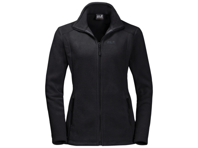 Jack Wolfskin Midnight Moon Fleece jakke - Dame - Sort
