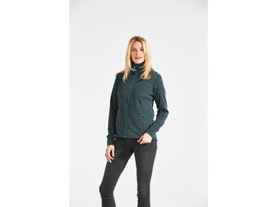 Didriksons Årö Womens Jacket - Dame Fleecejakke - Blå