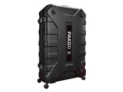 Topeak PAKGO X - Letvægts cykelkuffert med komplet beskyttelses kit - Hård skal