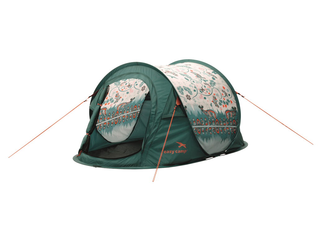 Easy Camp Daybreak - Pop Up Telt - 2 Personer - Mønster Lys thumbnail