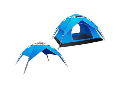 Lome Iglo - Telt - 4 personer Pop Up telt - Blå