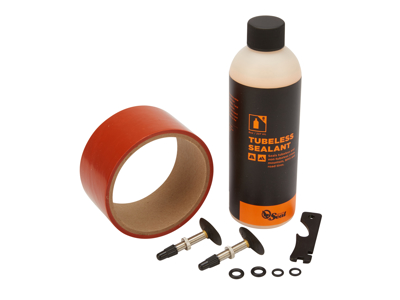 Orange Seal Tubeless Kit - 45 mm fælgtape - 237 ml. Regular væske