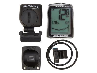 Sigma Sport BC 14.16 STS - Trådløs cykelcomputer med højdemåler