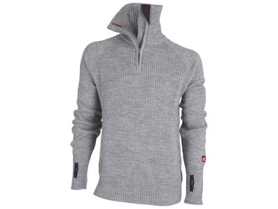 Ulvang Rav Sweater w/zip - Uldtrøje Unisex - Grå