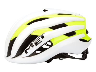 Met Trenta - Cykelhjelm - Hvid/gul - Str. 56-58 cm