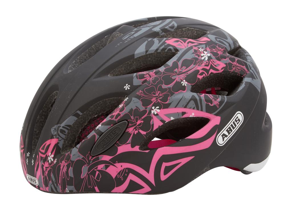 Cykelhjelm Abus Lane-U mat sort/pink thumbnail