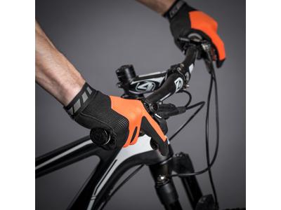 GripGrab 1064 Vertical - Cykelhandsker til MTB - Lang - Orange/Sort