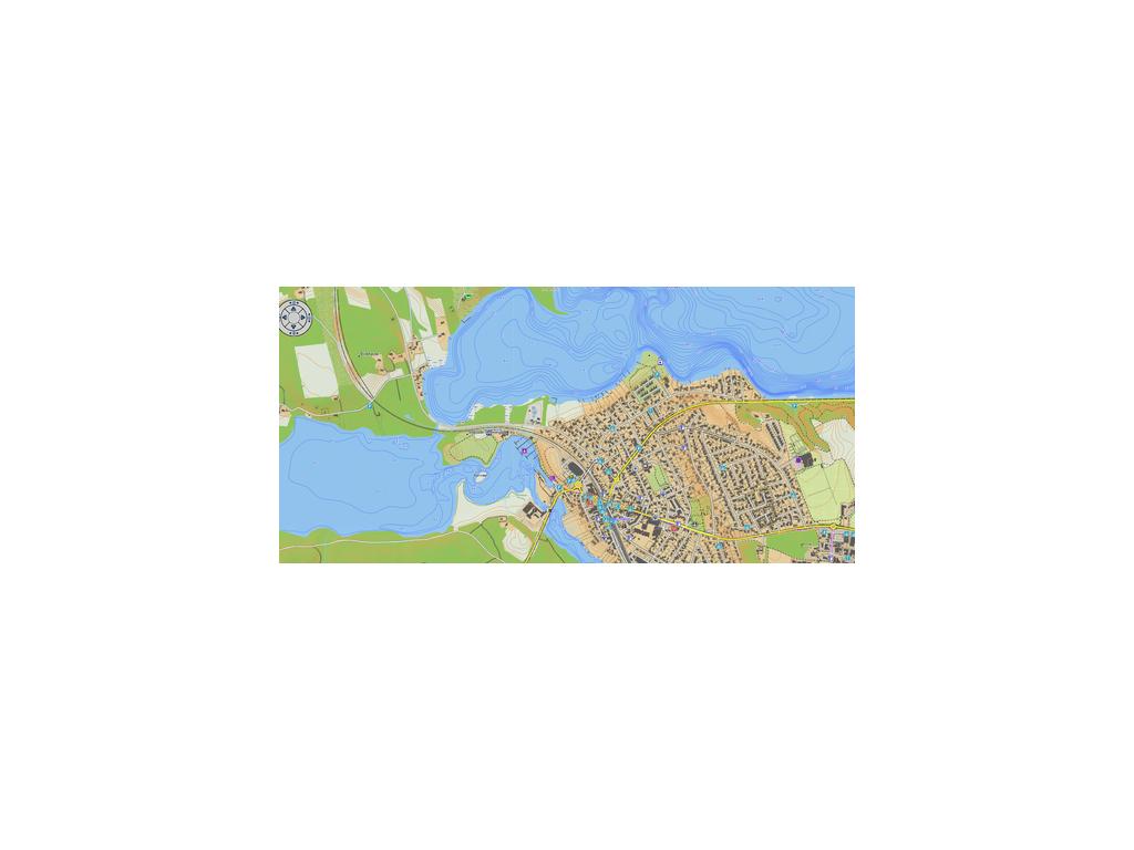 Topografisk Kart Danmark Garmin V4 Pro Microsd Kort Nok 795 00