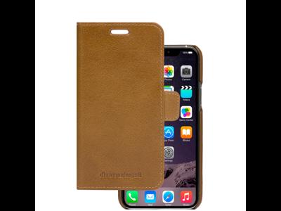 Cover til iPhone 11 Pro Max wallet Lynge brun