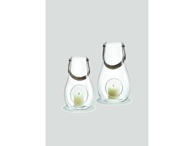 Sampak Holmegaard Design With Light lanterne 25 + 29 cm. Kla