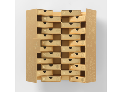 GOLD - Sharing Calendar 24 drawers