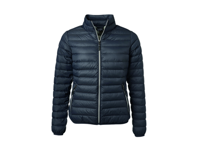 Damejakke Ladies´ Down Jacket Graphite/Silver