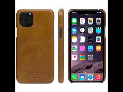 Cover til iPhone 11 wallet Lynge brun