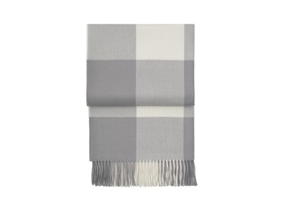 Superior Whisper plaid 130x200 cm flint grey/cream