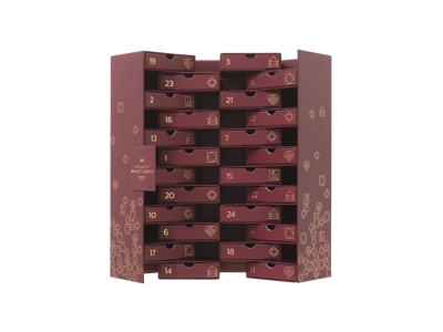 Advent Calendar 2019 24-drawers (Burgundy)