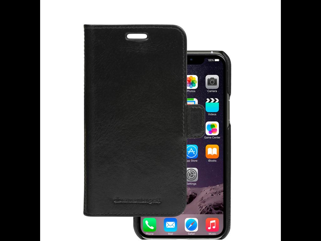 Cover til iPhone 11 wallet Lynge sort