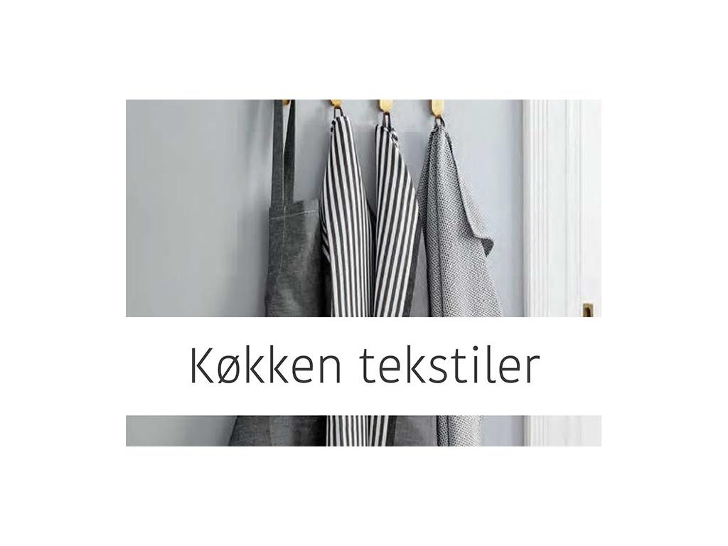 Køkken tekstiler