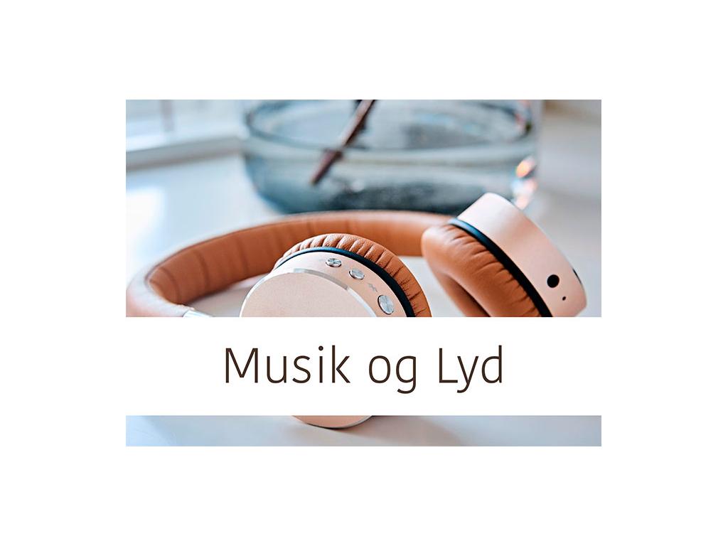 Musik og Lyd